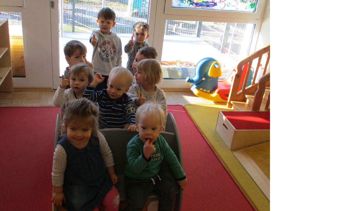Holzspielauto Kindergarten